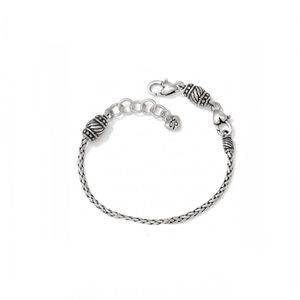 BRIGHTON BARREL SLIDE CHARM BRACELET